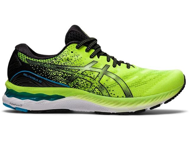 asics Gel-Nimbus 23 Shoes Men, hazard green/black